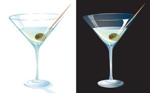 Martini. Vector.