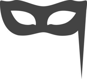 Mask Glyph Icon