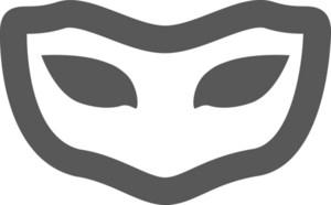 Masquerade Stroke Icon