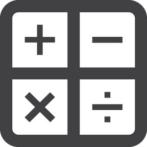 Math Symbols Stroke Icon