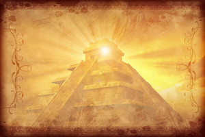 Mayan Vintage Background