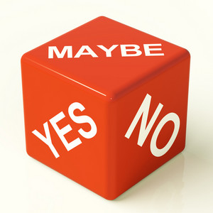 Maybe Yes No Dice Representing Uncertainty And Decisions
