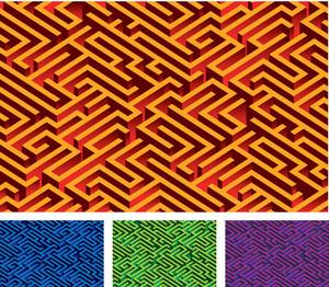 Maze. Vector.