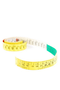 Measuring Tape On White