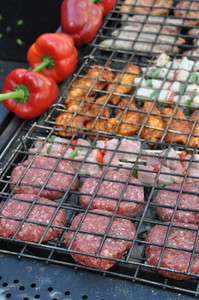 Meat On Barbecue
