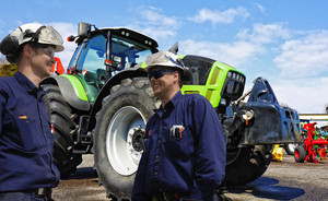 mechanics with farming industry