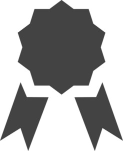 Medal Glyph Icon