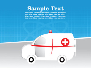 Medical Ambulance Background