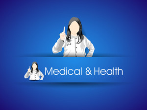 Medical And Health Concept With Doctor (female).