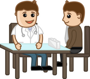 Medical Counselling - Cartoon Characters