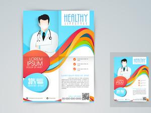 Medical flyer banner