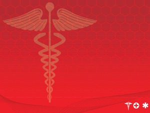 Medical Symbol Red Vector Illustration