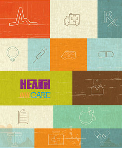 Medical Vector Illustration With Infographic Elements (editable Text)