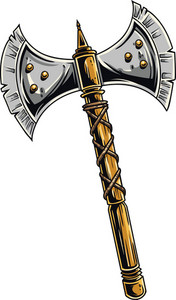 Medieval Weapons Vector Element