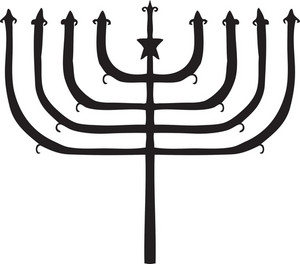 Menorah Vector Element