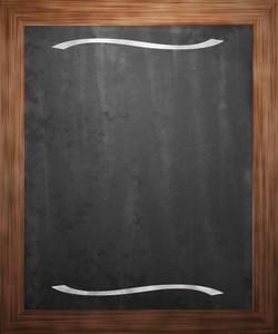 Menu Blackboard Background