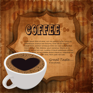 Menu Card Design For Coffee House.