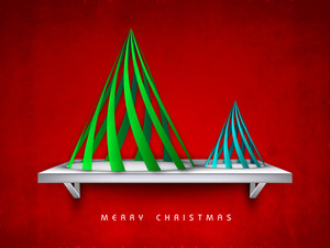 Merry Christmas Celebration Background.