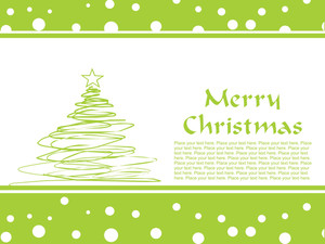 Merry Christmas Gretting Card