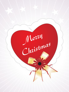 Merry Christmas With Heart