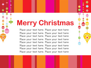 Merry Xmas Background With Place For Text