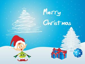 Merry Xmas Background