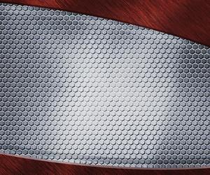Metal Background Grid Texture