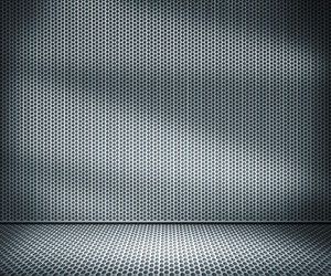 Metal Holes Interior Background