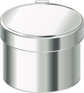 Metallic Container