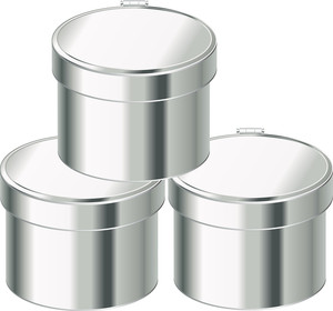 Metallic Containers