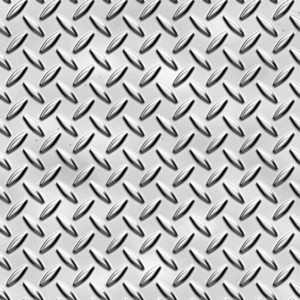 Metallic Diamond Pattern
