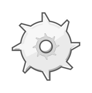 Metallic Gear Wheel