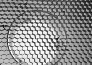 Metallic Lattice Pattern