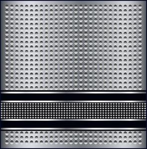 Metallic Pattern Background