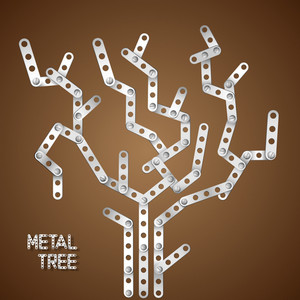 Metallic Tree