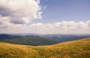 Bieszczady Mountains National Park in Poland