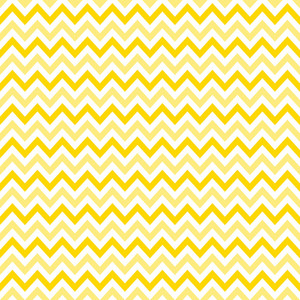 Pattern Of White And Yellow Chevrons On Mickey Paper