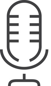 Microphone Minimal Icon