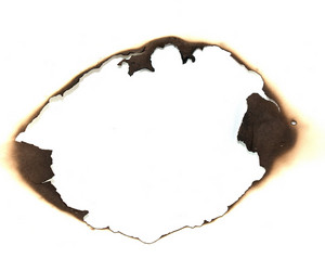 Middle Burn Paper Hole