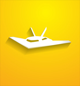 Mig Plane Vector Shape