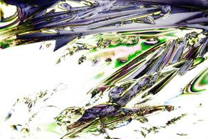 Mikrokristalle Der WeinsŠure Im Polarisiertem Licht