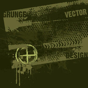Military Style Grunge Design