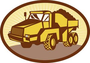 Mining Tipper Dumper Dump Truck