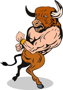 Minotaur Running