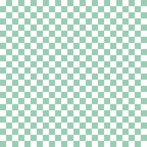 Mint Blue And White Checkerboard Pattern