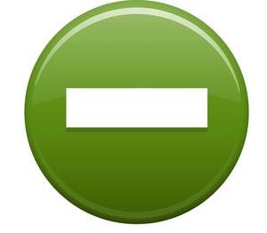 Minus Green Circle