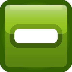 Minus Green Tiny App Icon