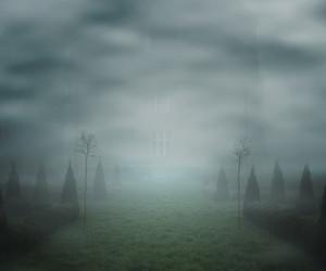 霧幻想背景牆