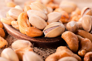 Cashew Nuts And Pistachios