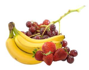 Mix Fruits Isolated On White